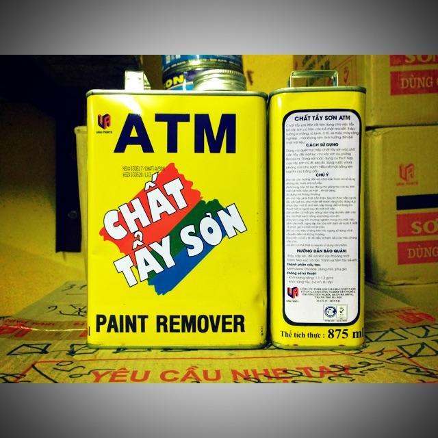 Tổng hợp hóa chất tẩy sơn ATM- Hảo Tâm