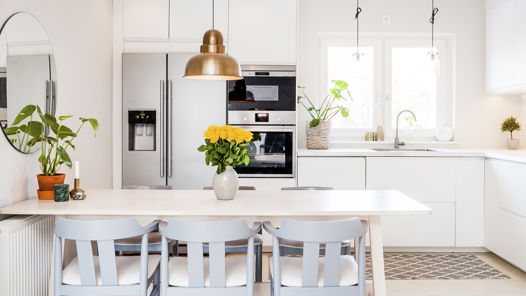 Dọn dẹp sạch sẽ nhà bếp của bạn